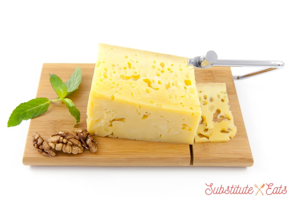 emmental cheese substitute - Gruyere Cheese