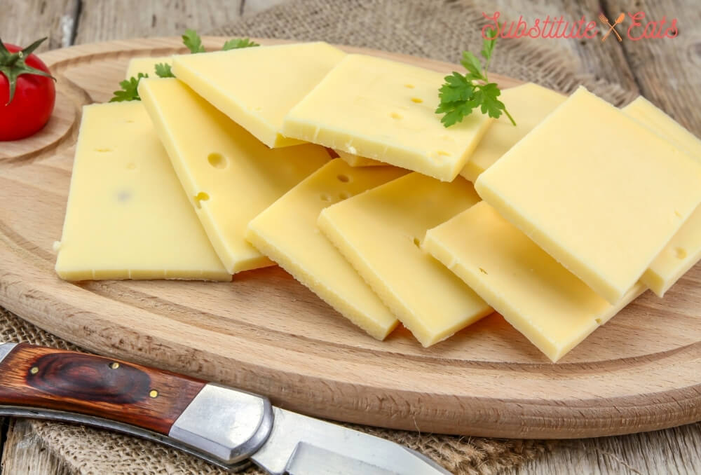 emmental cheese substitute - Raclette Cheese