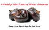 Substitute for water chestnuts