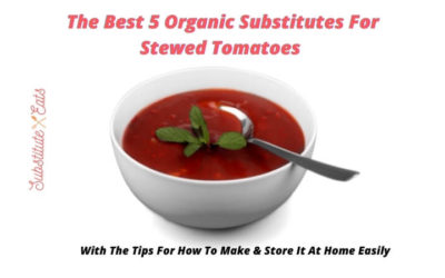 substitute for stewed tomatoes