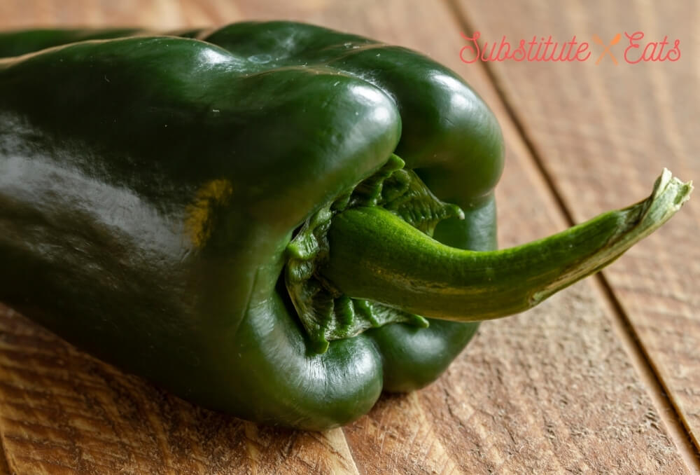 Green Chilies Substitute - Passilla Peppers