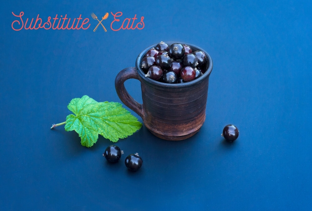Pomegranate Molasses Substitute - Blackcurrant Syrup or Cassis Syrup