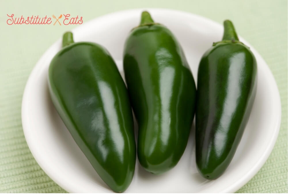 Green Chilies Substitute - Jalapeno Peppers