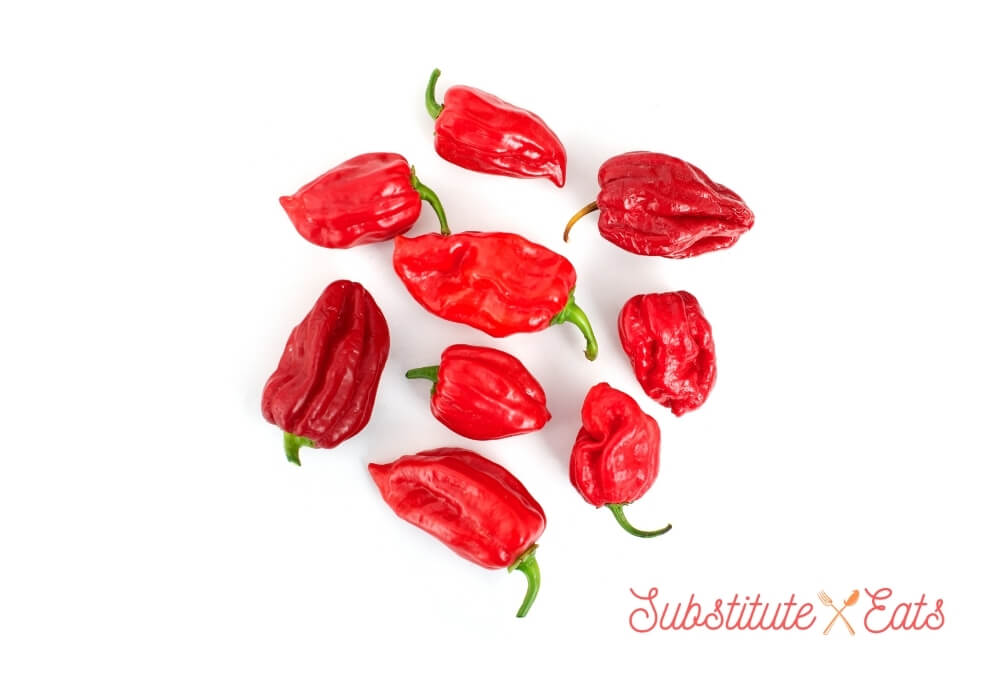 Green Chilies Substitute - Habanero Peppers