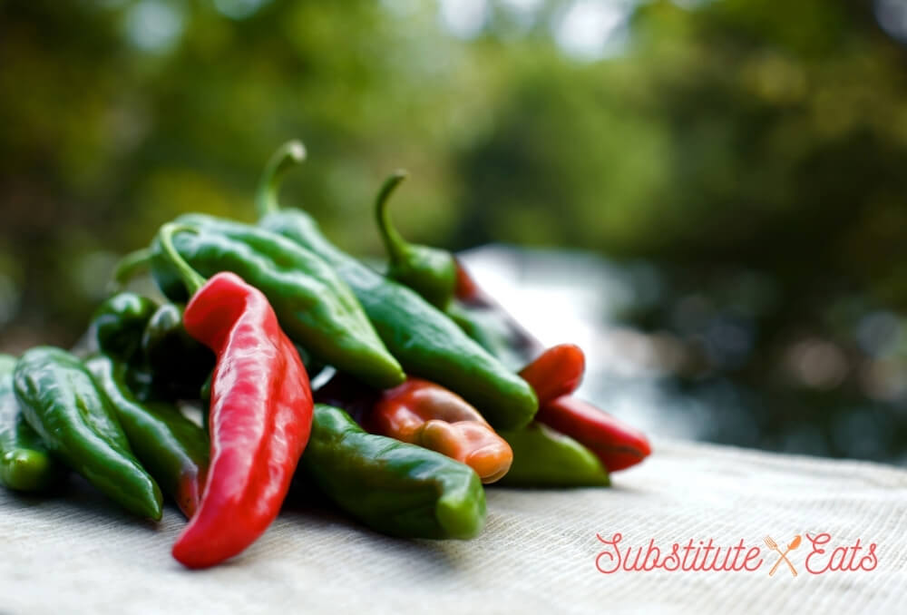 Green Chilies Substitute - Anaheim Peppers