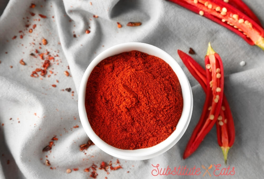 Green Chilies Substitute - Chilli Powder