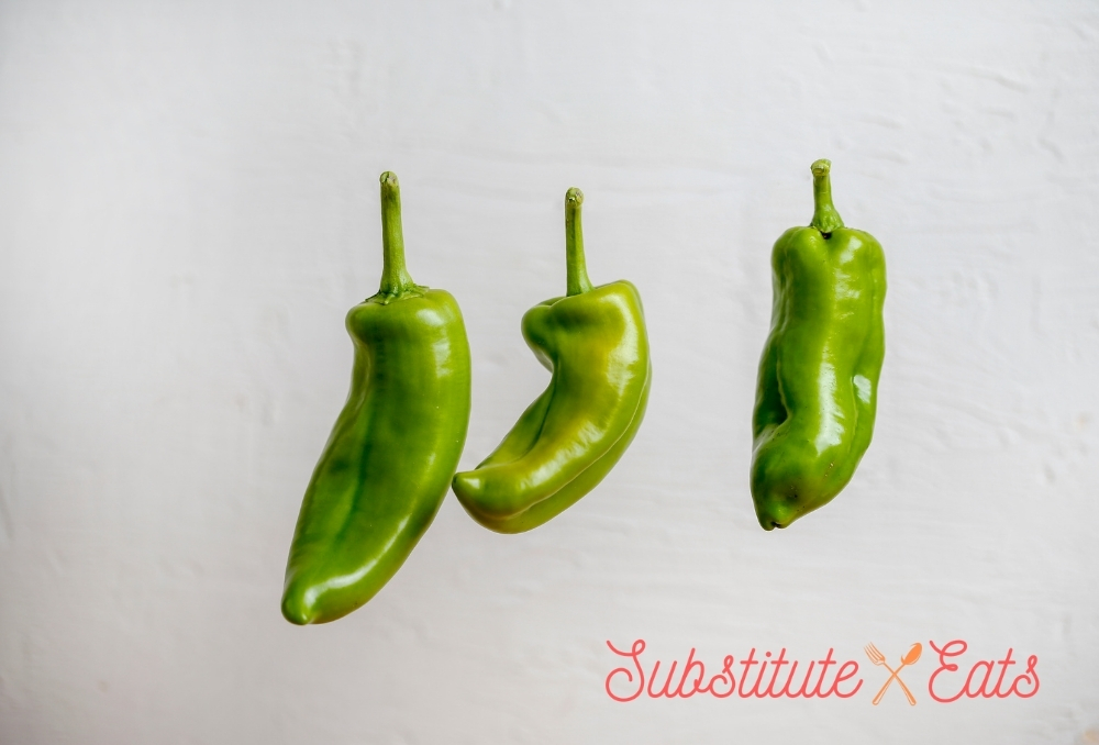 Cubanelle Peppers Substitutes - Anaheim Peppers