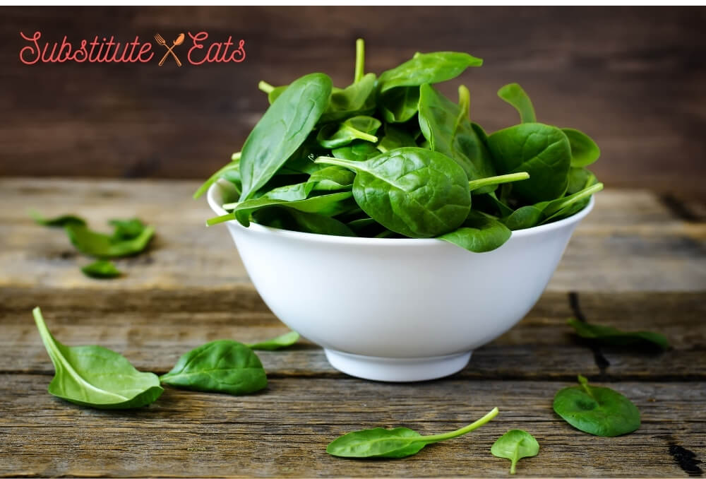 Watercress Substitutes - Spinach